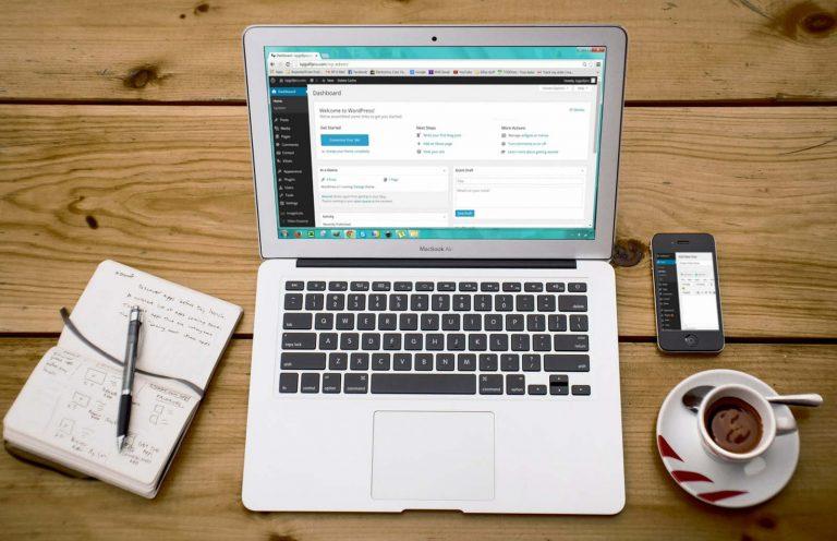 Visible Marketing WordPress website banner image